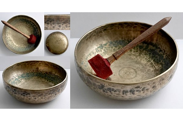 Extraordinary Antique Eb3 'Shaman Bowl' with Inscription
