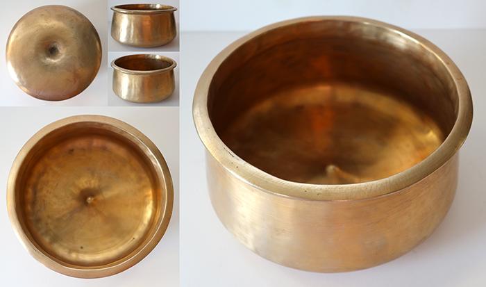 Rare & Extraordinary Antique Pot-Shaped Lingam Singing Bowl – bb4 & A4