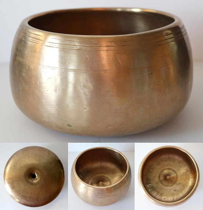 Rare & Extraordinary Antique Mani-Lingam Singing Bowl – C5 & F6