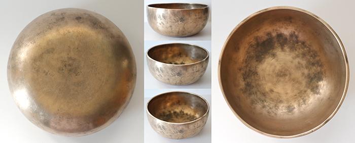 Versatile Antique Thadobati Singing and Talking Bowl – Rare A3 (221Hz-226Hz)