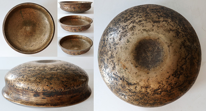 Incredible 18th Century Semi-Lingam Bowl – Perfect Pitch F3 - Talking & Fountain!