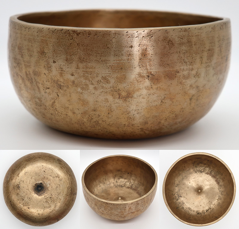 Rare Antique Lingam Singing Bowl – D4 (288-290Hz)