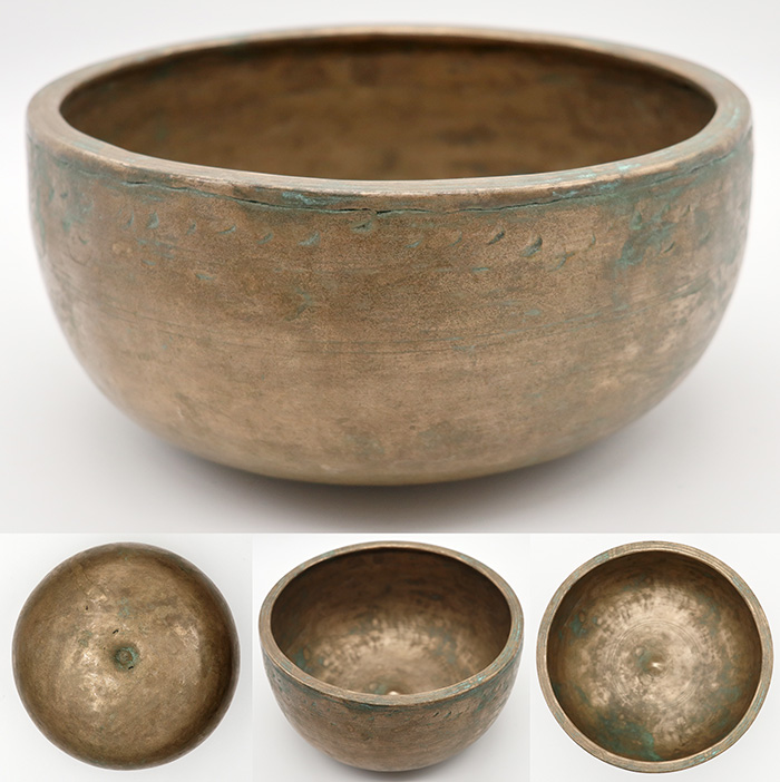 Exceptional Rare 18th Century Lingam Bowl in 'As Found' Condition – Sacred Gashes
