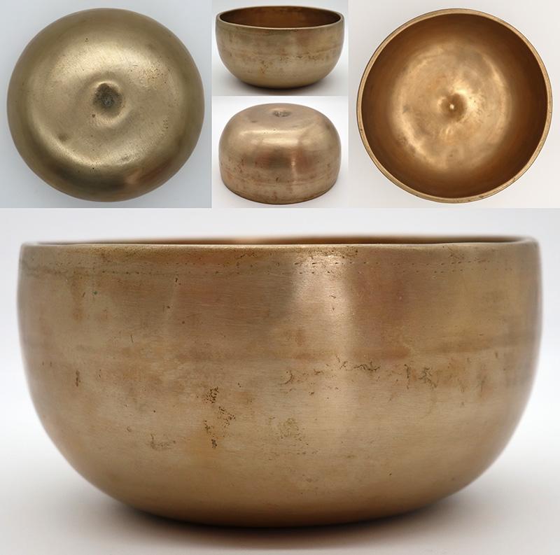 Rare Small Antique Lingam Singing Bowl – Eb4 (307Hz)