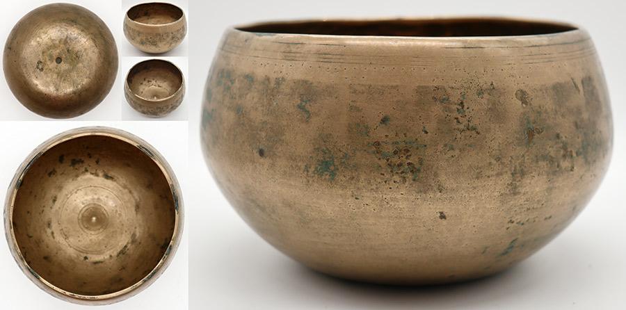 Rare Antique 'Genie' Lingam Singing Bowl – Perfect Pitch D4 - Suns