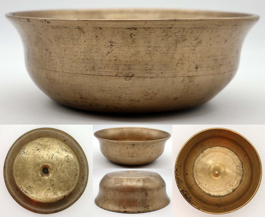 Rare & Extraordinary Antique Lingam Singing Bowl – A3/Bb3