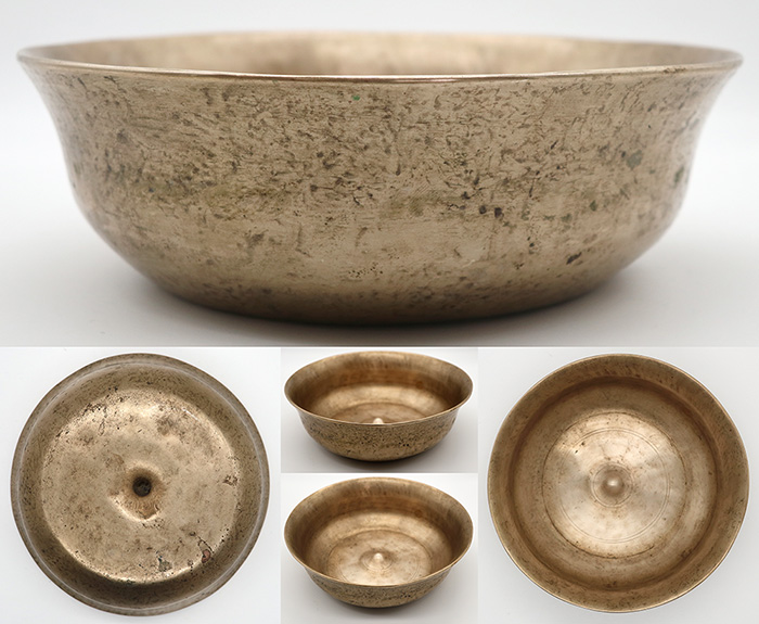 Exceptionally Beautiful & Very Rare Antique Lingam Singing Bowl – Perfect Pitch G#3