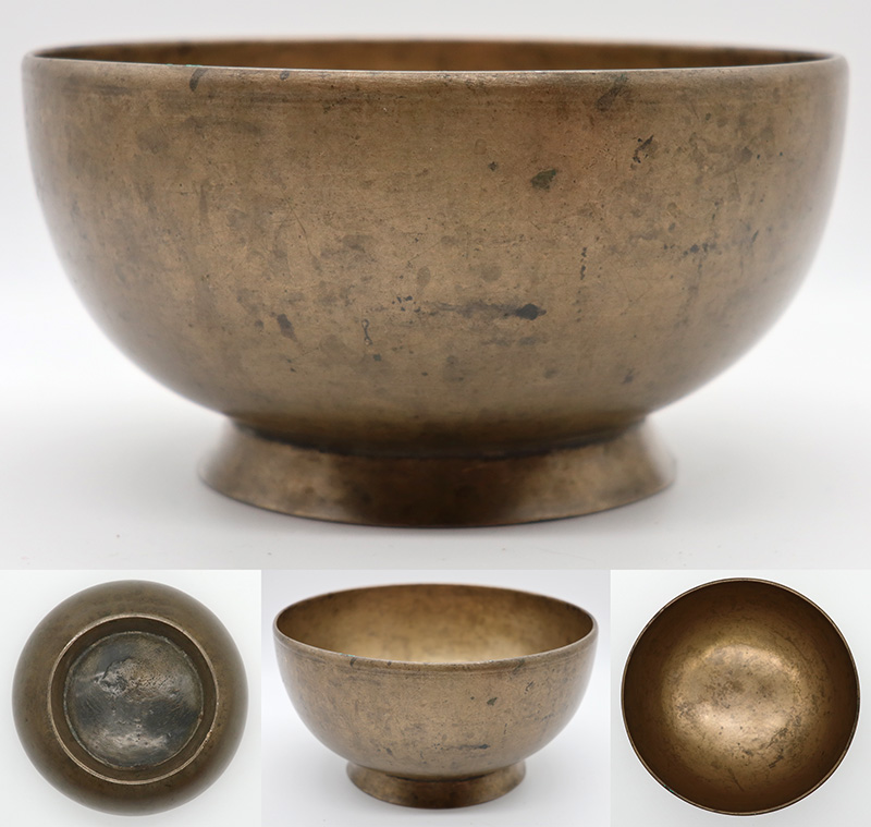 Extremely Rare Antique Naga Singing & Healing bowl – 2 Perfect Pitch Voices!