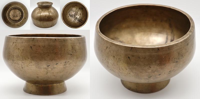 Large Top Quality Antique Naga Singing & Healing bowl – Superb F4 & Bb5