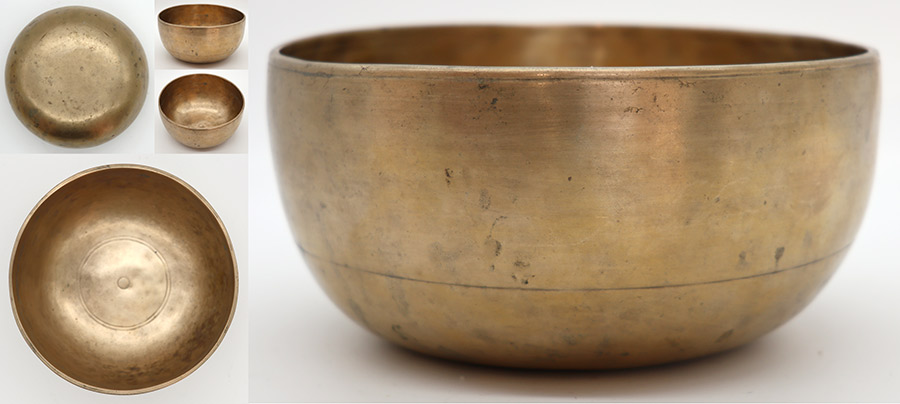 Antique Remuna Singing Bowl– Fabulous Perfect Pitch Bb3 & Penetrating E5