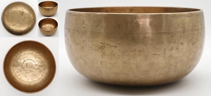 Graceful Antique Remuna Singing Bowl – Lovely F/F#3
