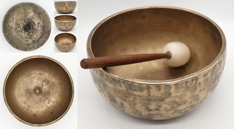Rare Antique Lingam Singing Bowl – Perfect Concert Pitch C#4 Voice