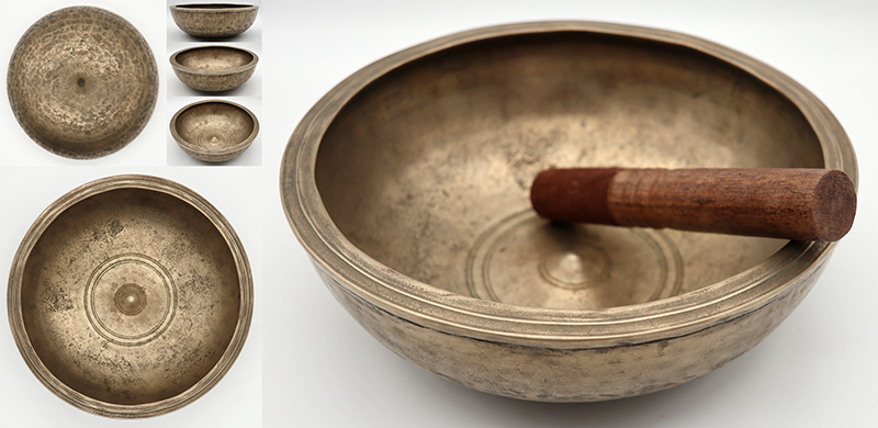Exceptional & Superlative Museum Quality 18th Century Lingam Singing Bowl