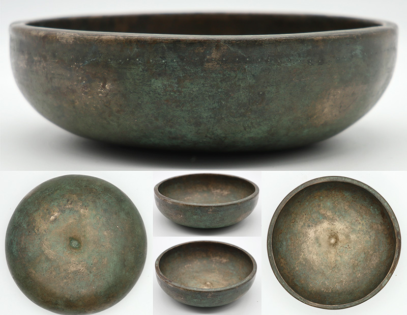 Exceptionally Rare 17th /18th Century Lingam Singing Bowl – Perfect Concert Pitch Bb3