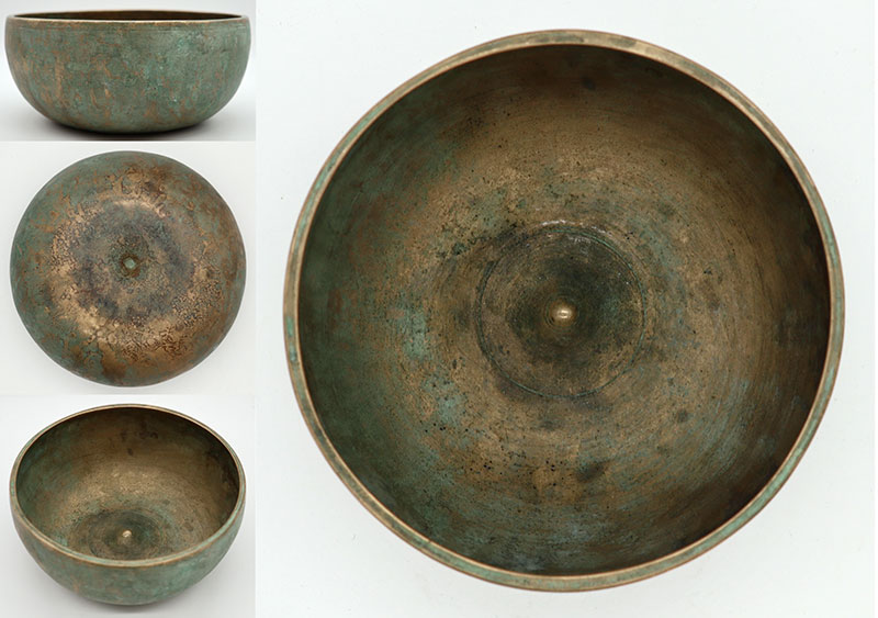 Exceptional Quality Antique Lingam Singing Bowl in 'As Found' Condition – Perfect Pitch C4