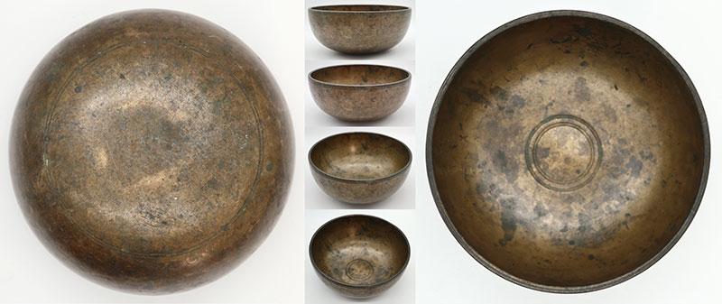 Unique Antique Singing Bowl 'As Found' — B3/C4 Cusp (253/254Hz)
