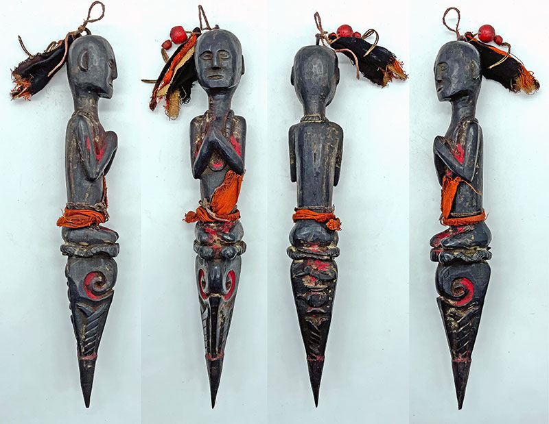 Superb Rare Antique Jhakri/Shaman Phurba from Nepal