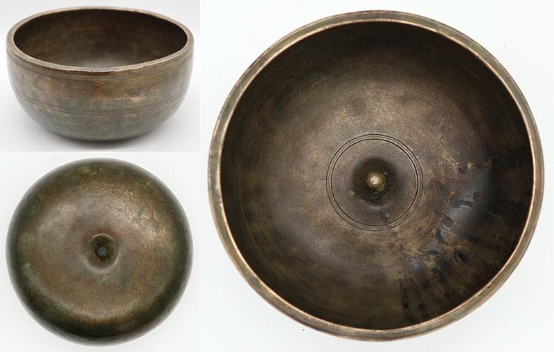 Superior Quality Extra-Thick & Heavy Antique Lingam Singing Bowl – E4