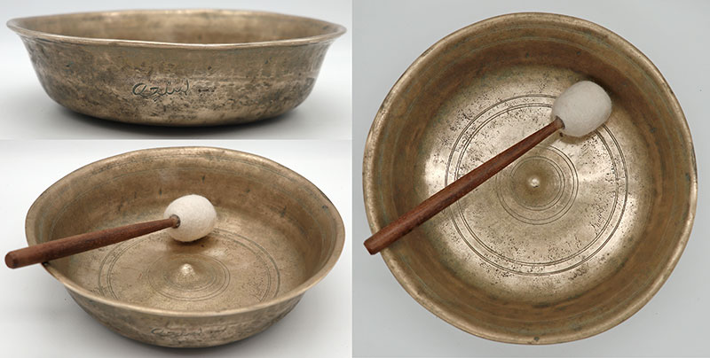 Exceptionally Rare 17th Century Shaman Lingam Talking or Water Spirit Bowl - Inscribed