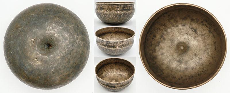 Extremely Rare & Beautiful Antique Ultabati-Lingam Singing Bowl – C#3 (136Hz)