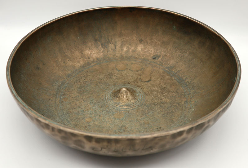 Wonderful 18th Century Shamanic Lingam Medicine & Singing Bowl - My Rarest Bowl!