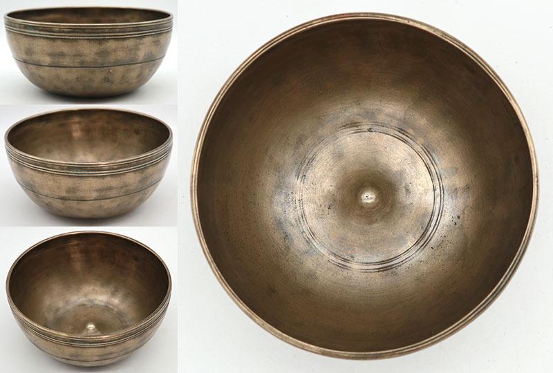 Exquisite Superior Small 19th Century Lingam Singing Bowl – Bb3