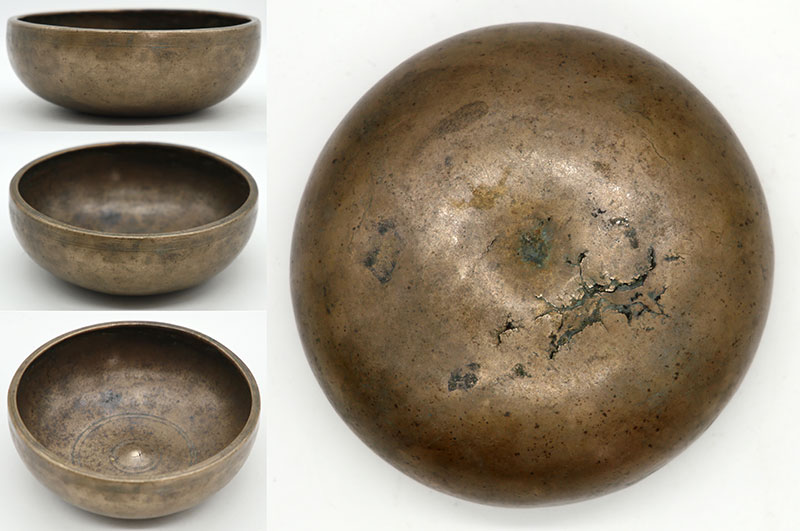 Charming and Rare Tiny 18th Century Lingam Singing Bowl – Bb4