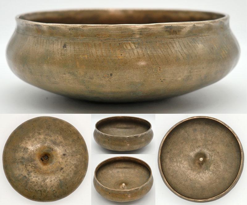 Rare Shaman's Lingam Medicine Singing Bowl – Interesting Artwork