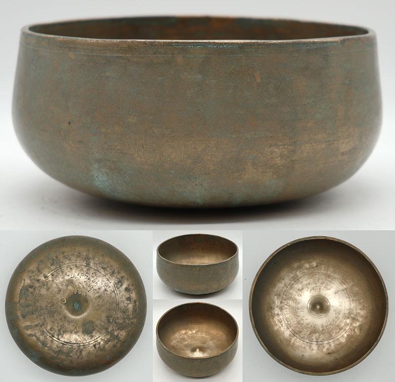 Rare Antique Remuna-Lingam Singing Bowl – A3 & D5