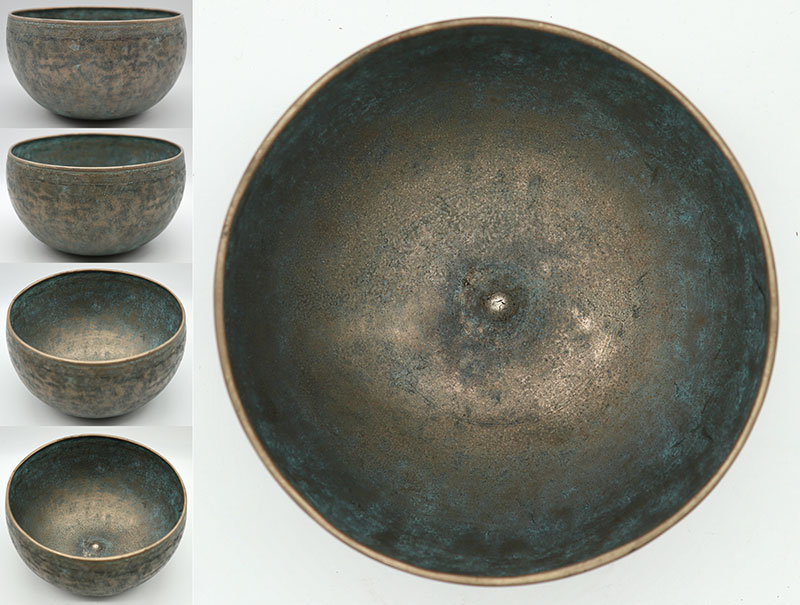 Amazing 19th Century Lingam Singing Bowl – Double Concert Pitch - Low B2 & F#4