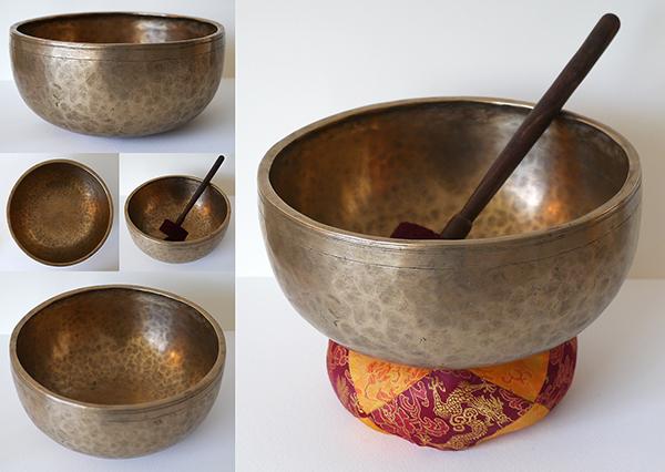 Impressive and Superb Large Jambati Eb3 Singing & Fountain Bowl