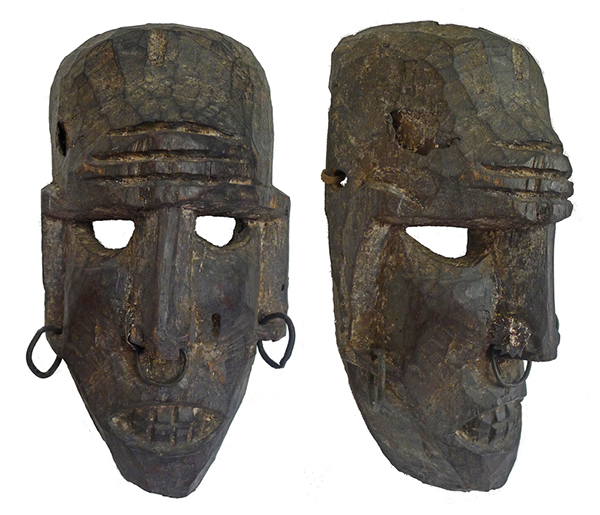 Antique Himalayan Female Shaman Mask