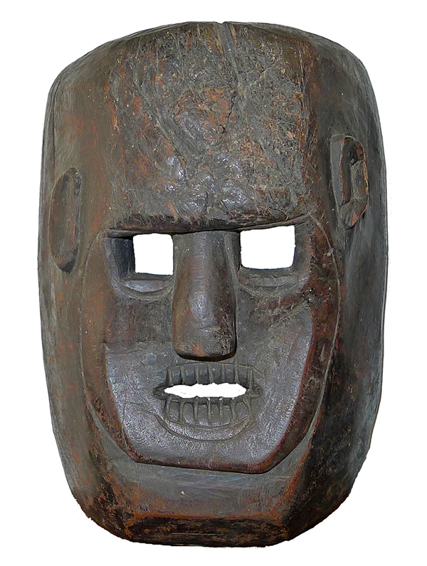 Antique Indonesian Shaman Mask