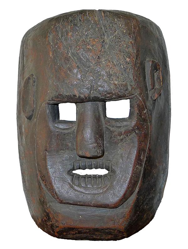 Antique Indonesian Shaman Mask
