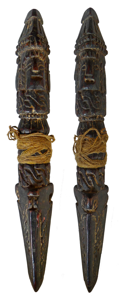 Antique Tibetan Dorje Phurba (19cm/7.5 inches)
