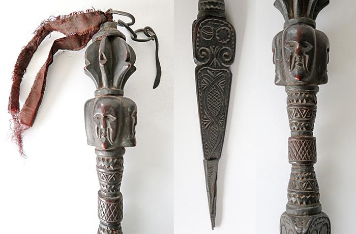 Rare Large Antique Nepali Shaman Phurba