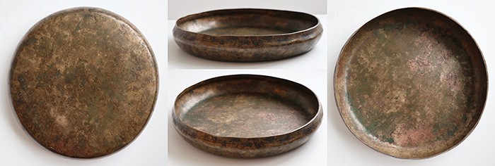 Rare Inscribed Antique Shaman Divination Bowl