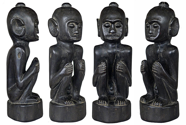 Ebony Male Ancestor from Lombok