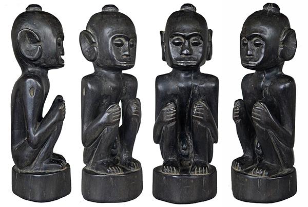 Ebony Male Ancestor from Lombok