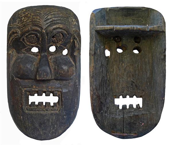 Himalayan Shaman Mask 28 x 17 cm (11 x 7 inches)