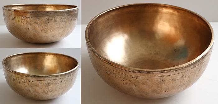 Versatile Premium Quality 11-Inch Antique Jambati Singing  & Fountain Bowl – F#/G & OM