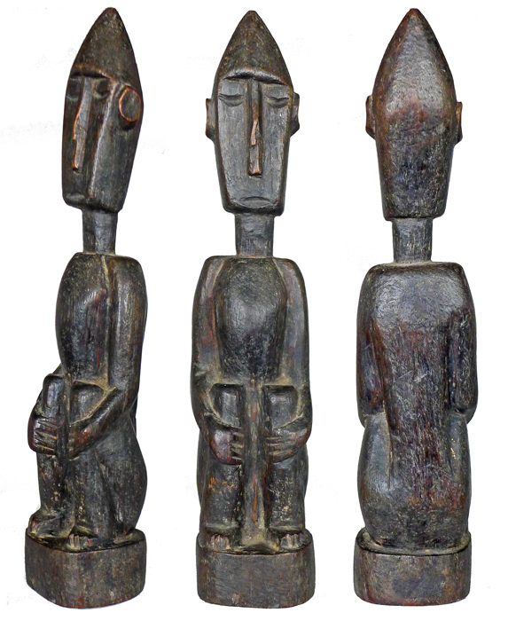 Leti Male Ancestor Figure