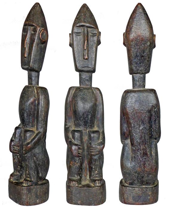 Leti Male Ancestor Figure