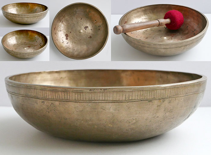 Extremely Rare & Versatile Antique Lingam Singing Bowl – Singing, Talking & Fountain