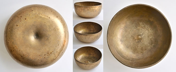 Antique Lingam Singing Bowl in 'As Found' Condition – B3 & F5