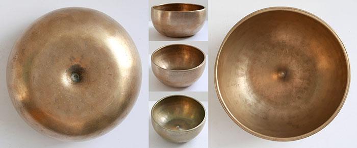 Rare Antique Lingam Singing Bowl – D4 (301Hz)