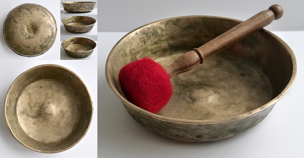Extremely Rare 17th Century Shaman Ceremonial Singing & Exceptional Talking Bowl