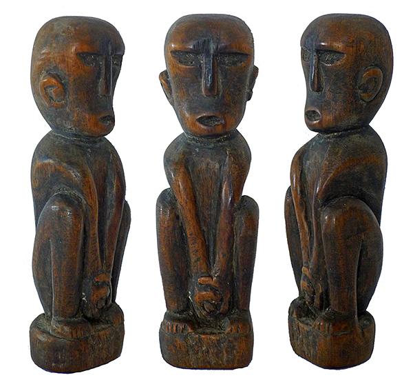 Indonesian Ancestor Figures-9100
