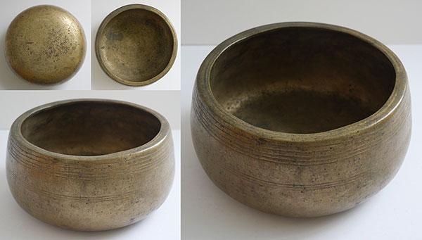 Rare Antique Mani Singing Bowl – D5 (595-600Hz)
