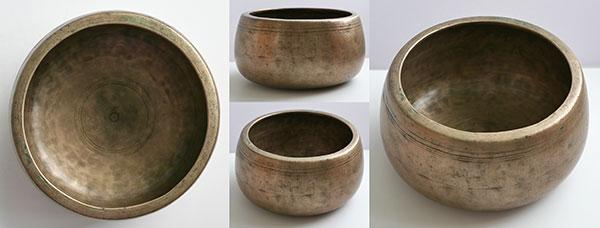 Rare Large Antique Mani Singing Bowl – Superb C#5 (562Hz) Voice